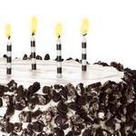 Кремовый торт с печеньем
