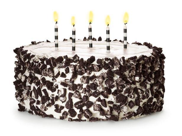 Фото Кремовый торт с печеньем