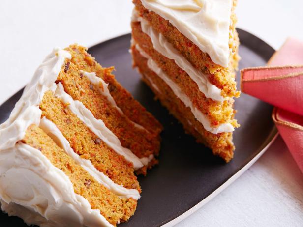Фото Морковный торт для двоих