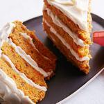 Морковный торт для двоих