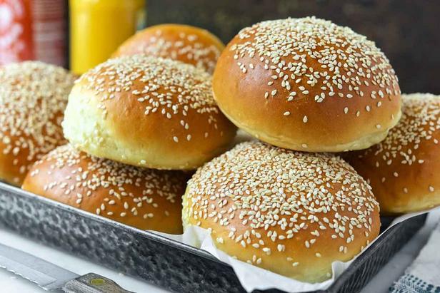 Домашние булочки для сэндвичей рецепт | Гранд кулинар