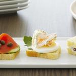 Чайные сэндвичи с булочками бриош: 4 рецепта