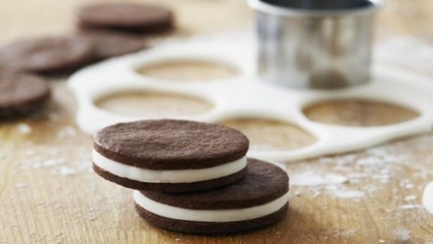 Фото Шоколадно-ванильное сэндвич печенье «Орео»