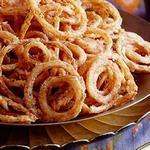 Луковые кольца во фритюре по-индийски