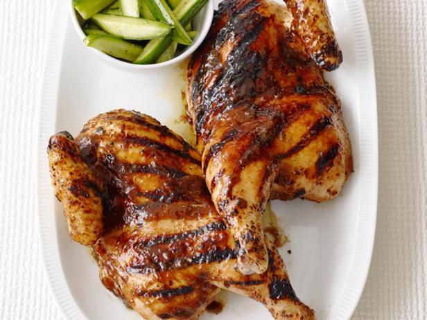 Курица барбекю с соусом хойсин