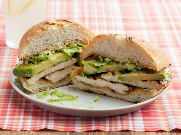 Сэндвичи пепито с курицей-гриль