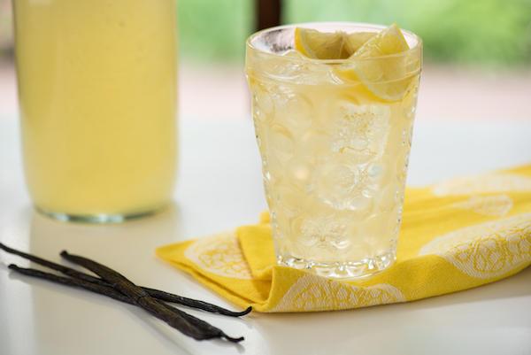 Фото Медово-ванильный лимонад
