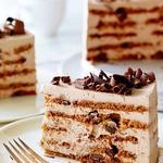 Творожно-шоколадный торт без выпекания