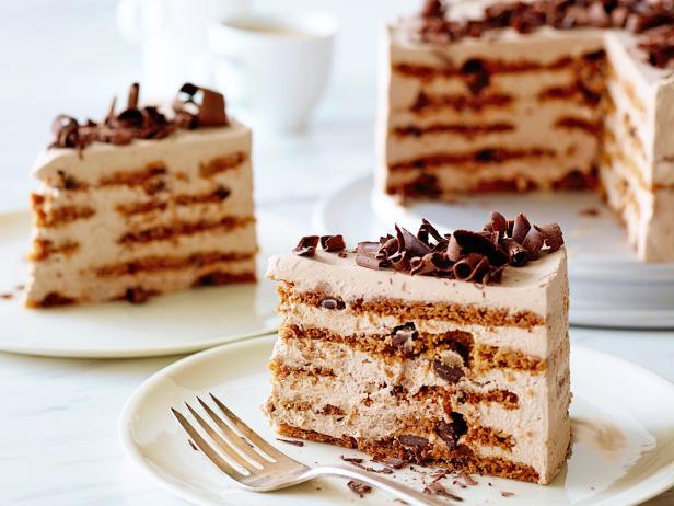 Фото Творожно-шоколадный торт без выпекания