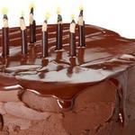 Шоколадный торт «Блэкаут» с ганашем