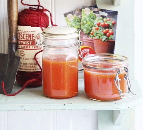 Фото Пассата из помидоров