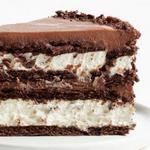 Творожно-шоколадный торт без выпечки