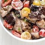 Салат из баклажанов на гриле