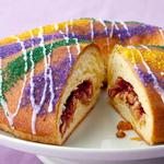 Американский пирог волхвов на праздник Марди Гра