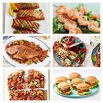 Рецепты для гриля: лосось, креветки и другие морепродукты