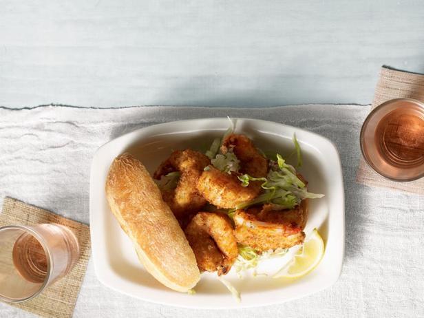 Фото - Булочки с жареными креветками в кляре