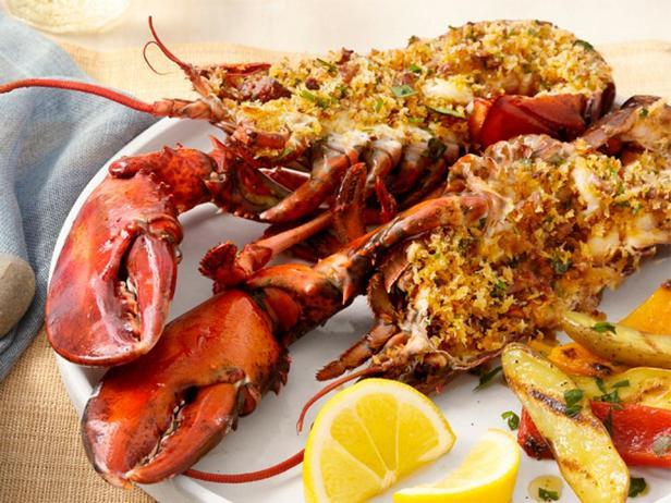 Фото - Фаршированные омары на гриле по-португальски