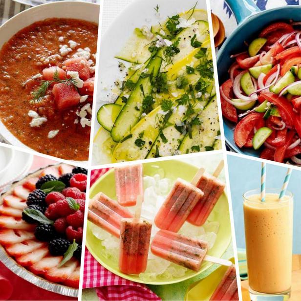 Фото Рецепты летних блюд без термической обработки