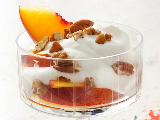 Фото - «Пьяный» персик со сливками