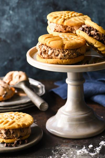 Фото Сэндвичи с шоколадным мороженым
