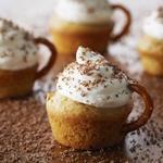 Пирожные «Чашка капучино»