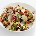 Салат из баклажанов, обжаренных на гриле