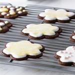 Шоколадное печенье «Шортбред» с глазурью