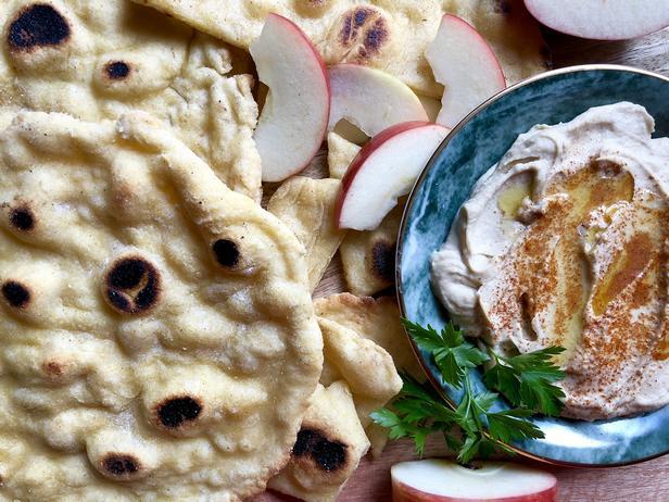 Фото Хумус с перцем чили