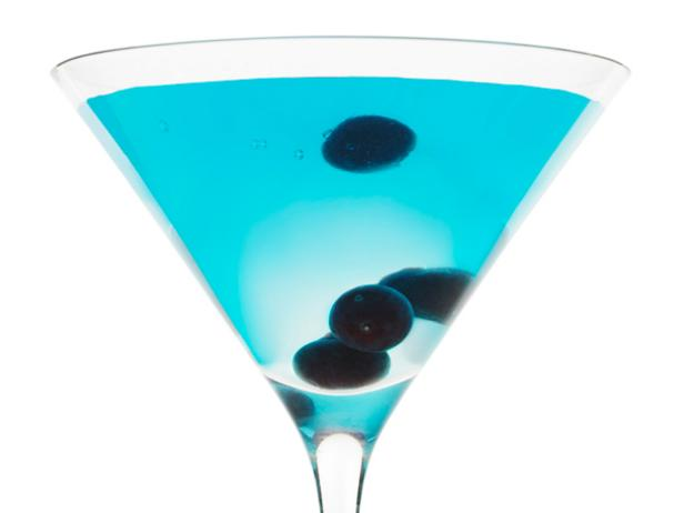 Черничный коктейль с водкой №43