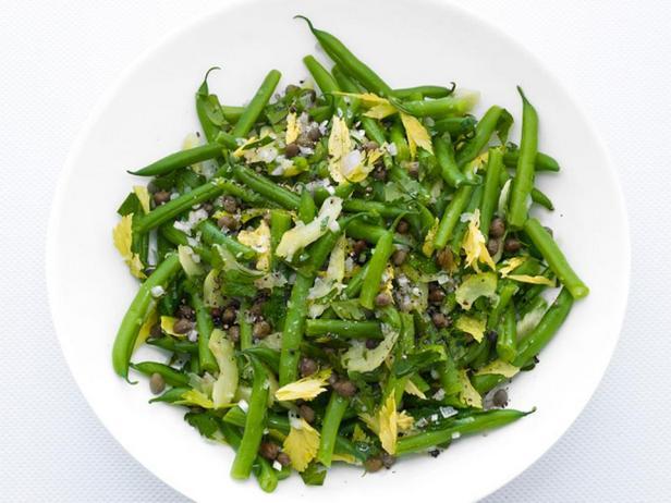 Фото - Салат из зеленой фасоли и сельдерея