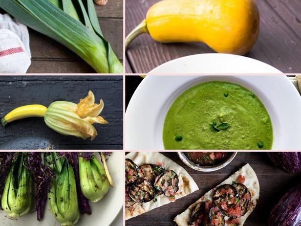 Фото Рецепты из летних овощей