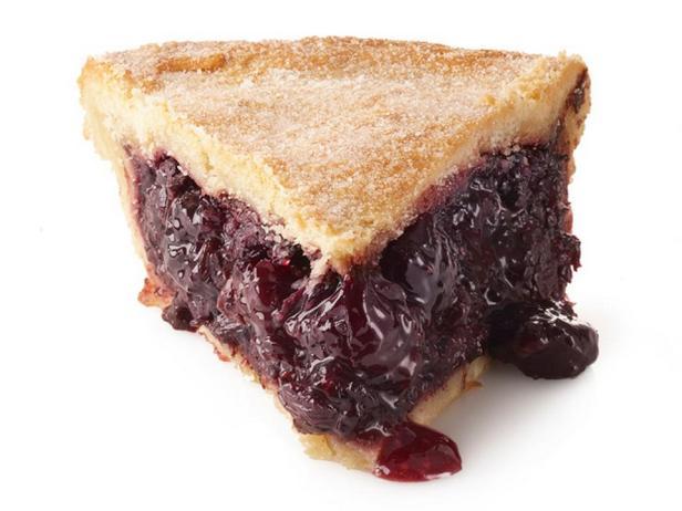 Фото Закрытый вишневый пирог