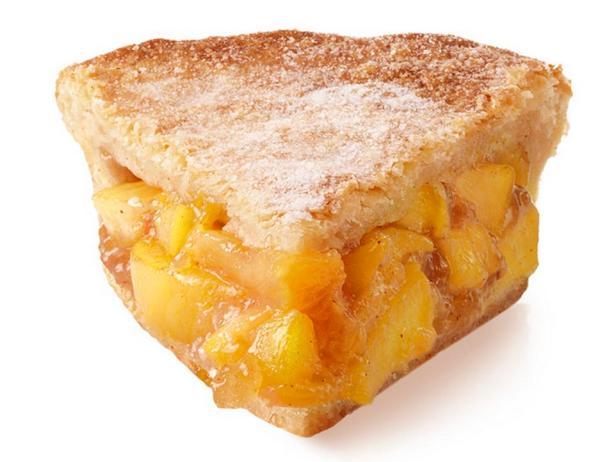 Закрытый персиковый пирог
