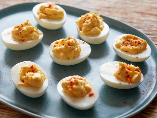 Фото Дьявольские яйца (фаршированные яйца)
