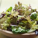 Пряный зелёный салат