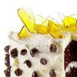 Кофейный торт с итальянским сливочным кремом и карамельным стеклом