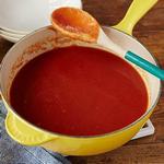 Томатный соус из печёных помидоров