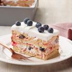 Пирожное «Ягодная лазанья»