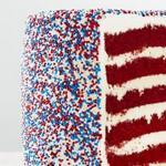 Торт «Красный бархат» из 6 слоев
