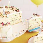 Классический торт на День рождения