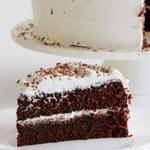 Шоколадный торт-безе «Зимнее настроение»
