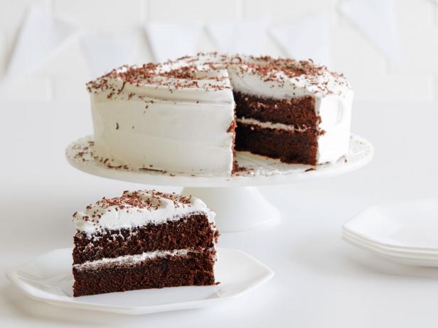 Фото Шоколадный торт-безе «Зимнее настроение»