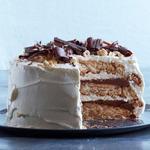 Шоколадно-ореховый торт Дакуаз