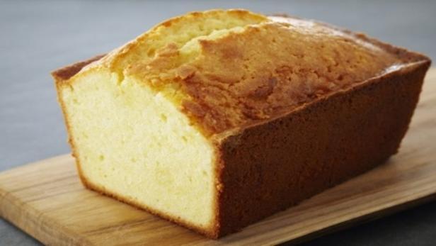 Фото Лимонный фунтовый кекс