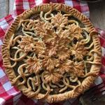 Мясной пирог Туртьер