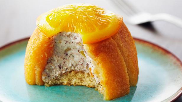 Фото Порционные кассаты с засахаренными апельсинами