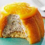 Порционные кассаты с засахаренными апельсинами