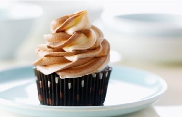 Фото Шоколадные капкейки с трюфелем и творожным кремом