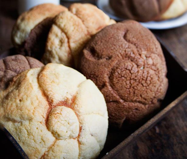 Кончас (ракушки) – мексиканский сладкий хлеб