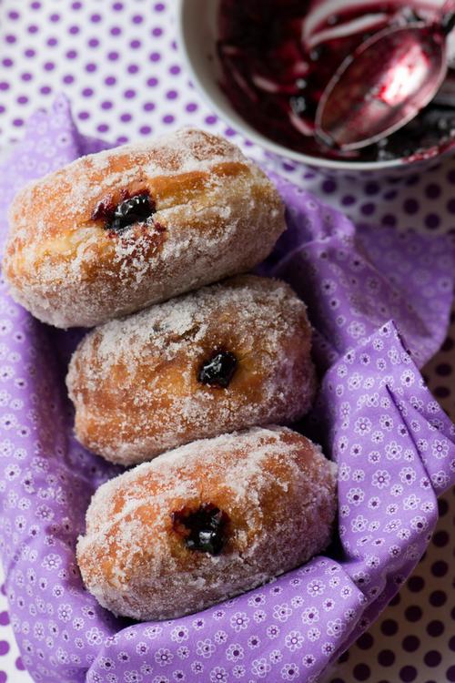 Фото Берлинские пончики